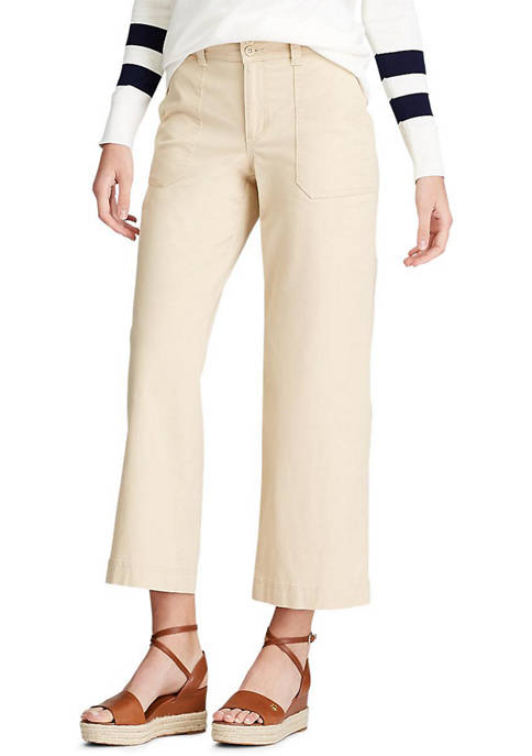 Chaps Womens Harris Patch Pocket Pants