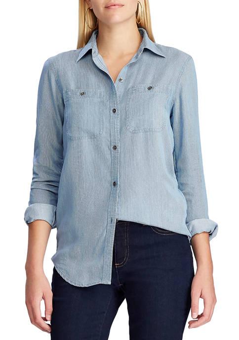 Chaps Womens Denim Shirt