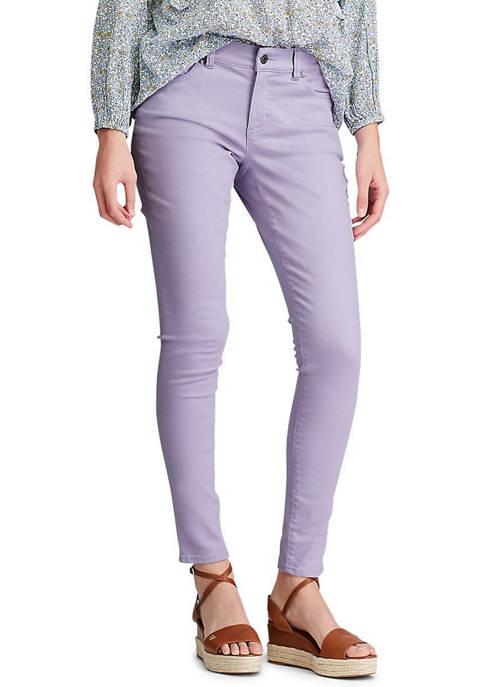 Chaps Womens Rachel 5 Pocket Ankle Pants