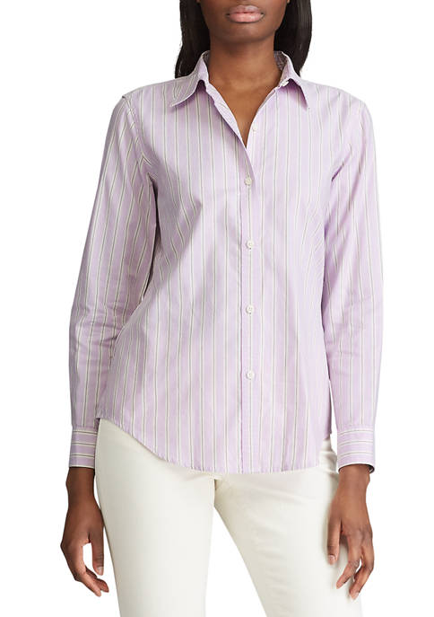 Womens Judy Stripe Oxford Shirt