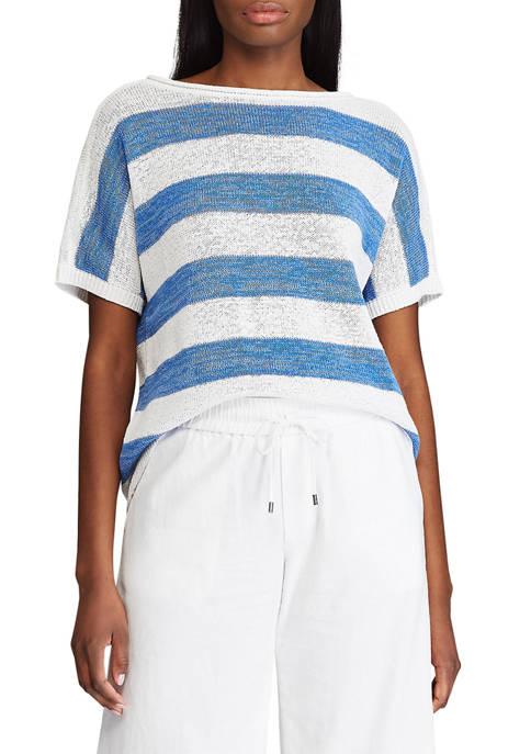 Chaps Short Sleeve Sweater