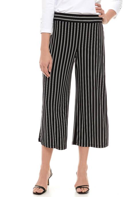 Womens Stripe Jersey Pants