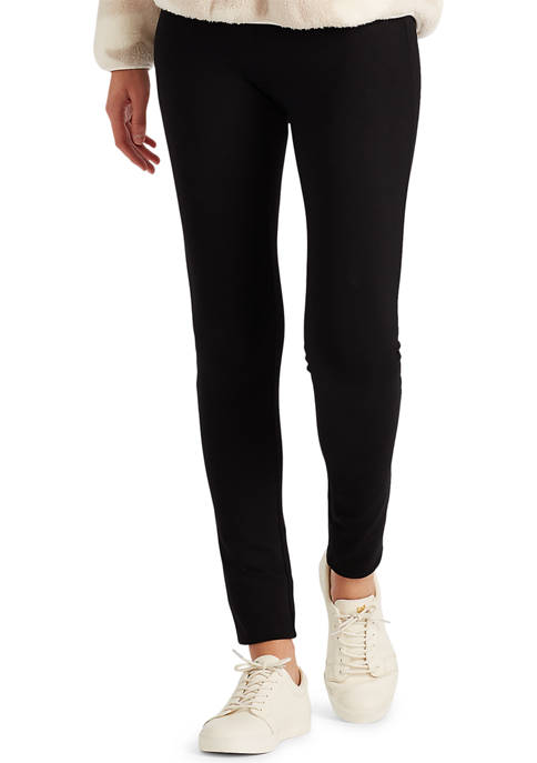 Chaps Womens Ponte Pull On Skinny Pants