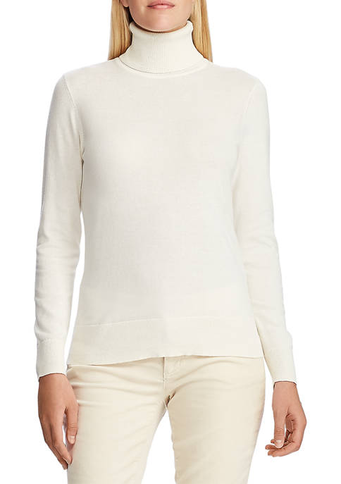 Chaps Womens Peggy Turtleneck Sweater
