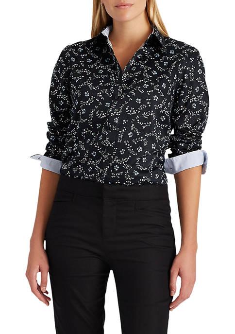 Chaps Womens Non Iron Button Down Shirt