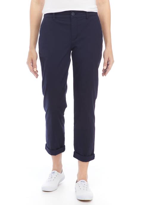 Chaps Womens Stretch Chino Pants