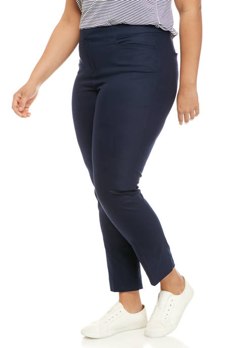 Chaps Plus Size Regular Skinny Pants
