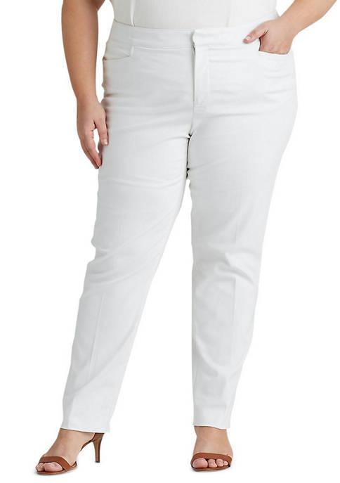 Plus Size Stretch Skinny Pants