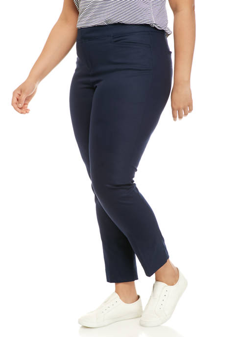 Plus Size Lisa Short Skinny Pants