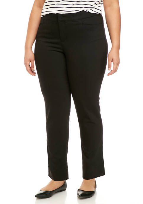 Chaps Plus Size Lisa Short Skinny Pants