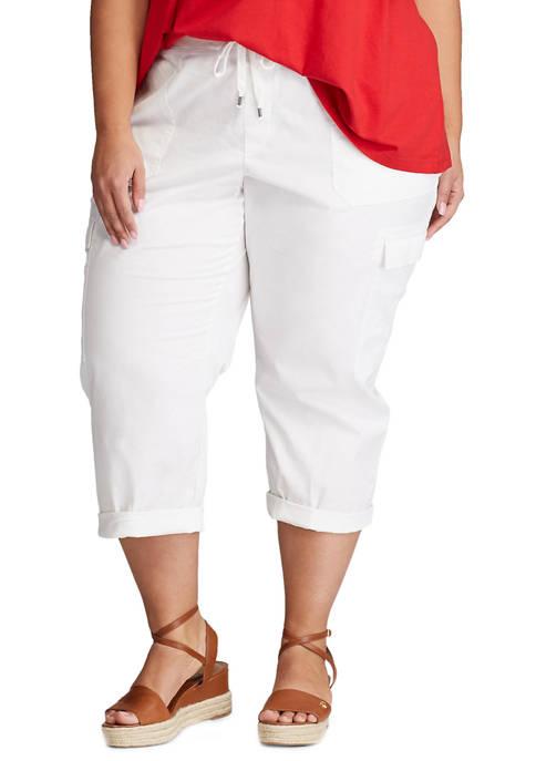 Chaps Plus Size Shelby Capri Pants
