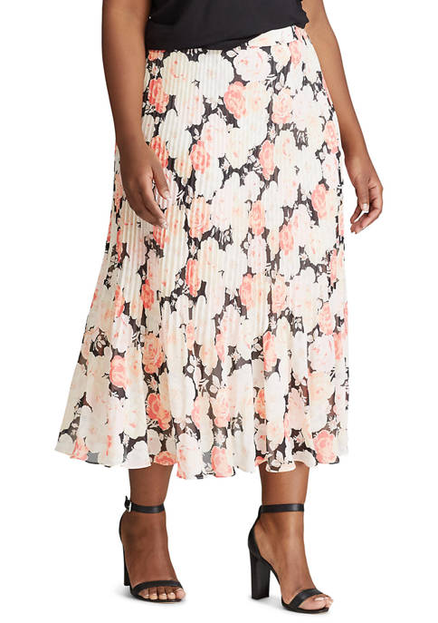 Chaps Plus Size Juno Skirt