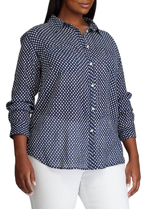 Chaps Plus Size Long Sleeve Shirt