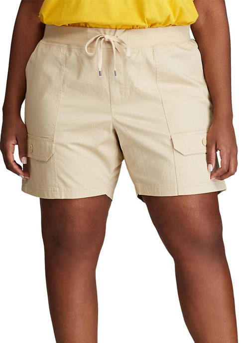 Chaps Plus Size Cotton Shorts