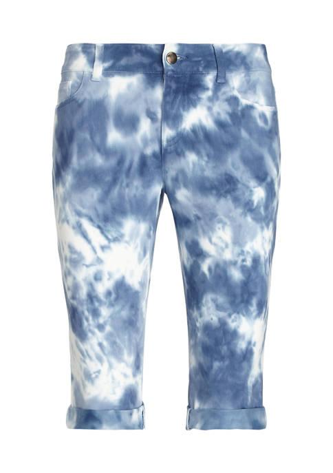 Chaps Plus Size Soft Twill Shorts