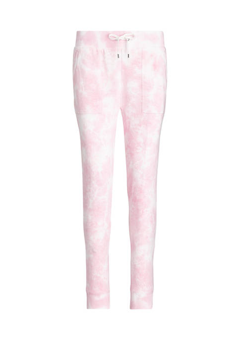 Chaps Plus Size French Terry Tie Dye Sweatpants
