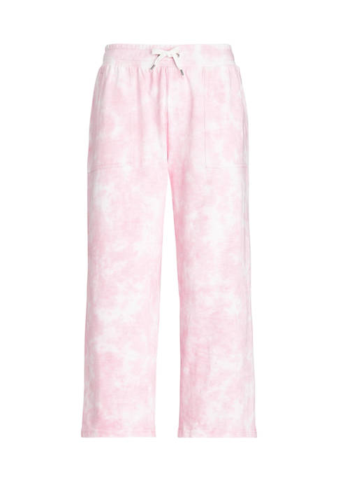 Plus Size French Terry Full Length Pants