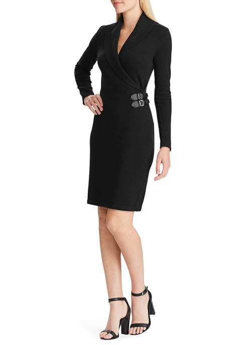 Chaps Womens Ariel Sweater Dress
