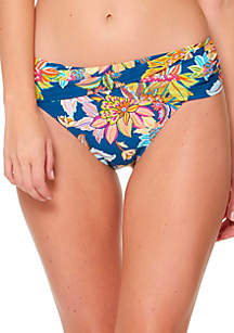 Bleu Rod Beattie Let The Sunshine Sarong Swim Hipster