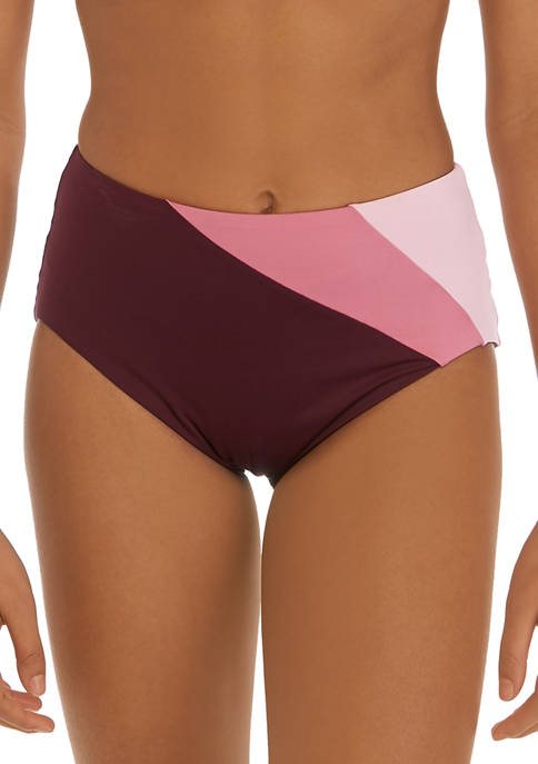 kate spade new york® Reversible High Waist Swim