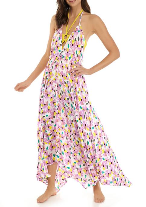 kate spade new york® Halter Maxi Dress Swim