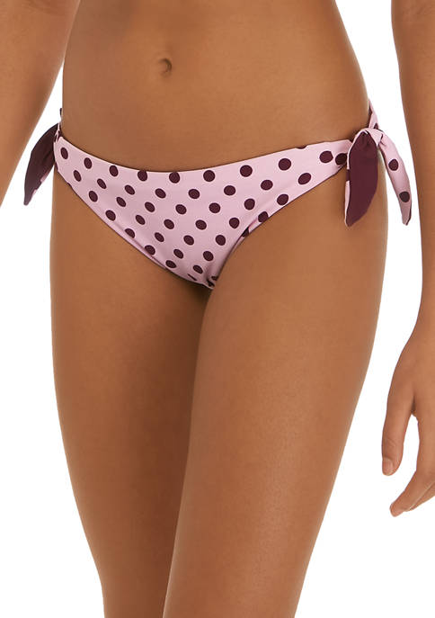 kate spade new york® Reversible Side Tie Swim