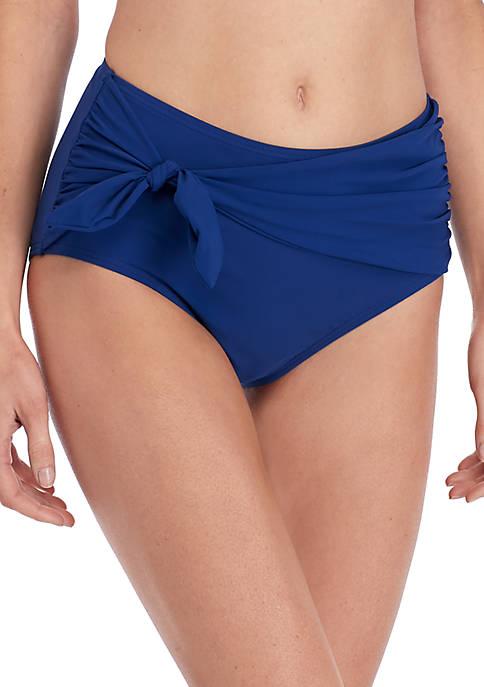 kate spade new york® Tie High Waisted Bikini