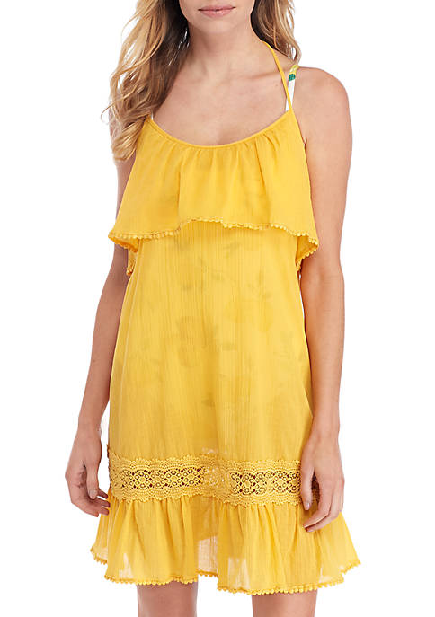 kate spade new york® Ruffle Cover Up Dress