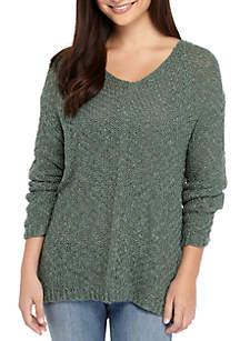 Back Destructed Sweater