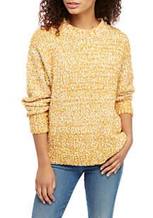 Long Bubble Sleeve Sweater