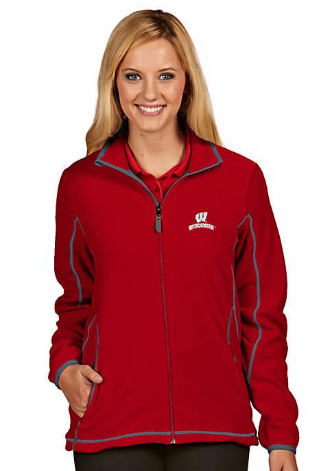 Antigua® Wisconsin Badgers Womens Ice Jacket