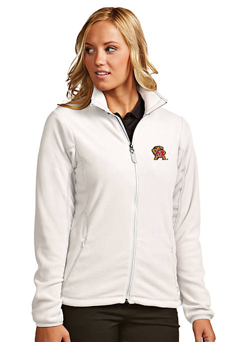 Antigua® Maryland Terrapins Womens Ice Jacket