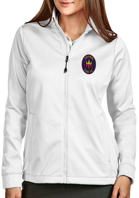 Antigua® Womens MLS Chicago Fire Golf Jacket