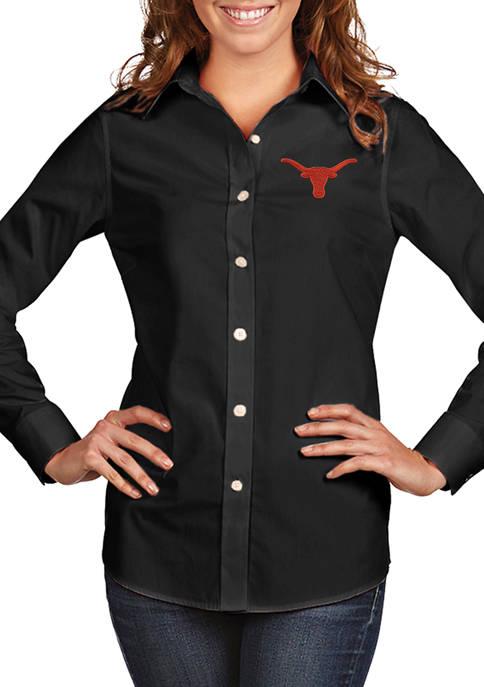 Antigua® Womens NCAA Texas Longhorns Dynasty Shirt
