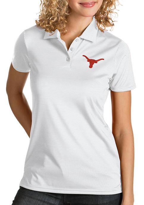 Antigua® Womens NCAA Texas Longhorns Quest Polo