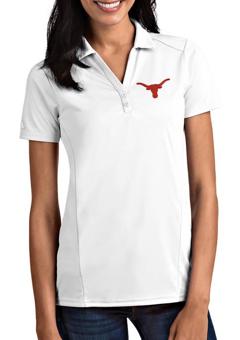 Antigua® Womens NCAA Texas Longhorns Tribute Polo