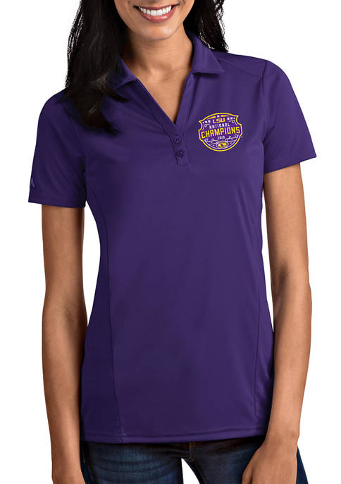 Antigua® NCAA LSU Tigers 2020 National Champions Interlock