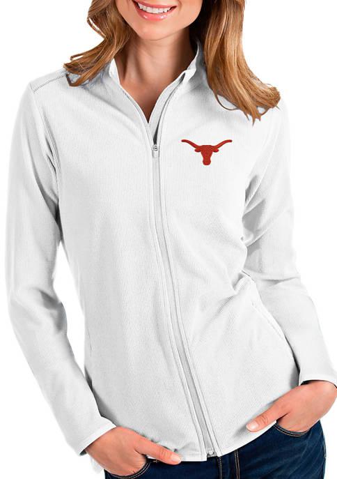 Antigua® Womens NCAA Texas Longhorns Glacier Jacket