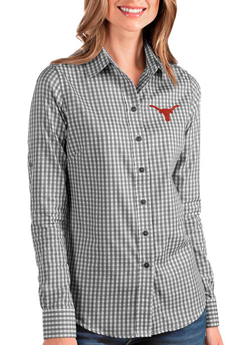 Womens NCAA Texas Longhorns Structure Shirt