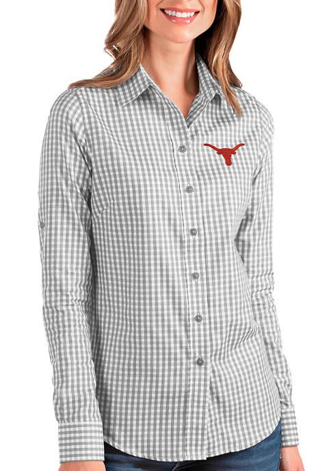 Antigua® Womens NCAA Texas Longhorns Structure Shirt