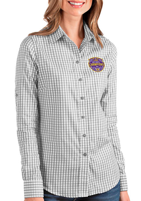 Antigua® NCAA LSU Tigers 2020 National Champions Long
