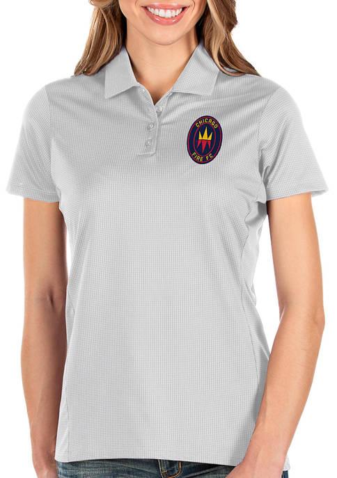 Antigua® Womens MLS Chicago Fire Balance Shirt
