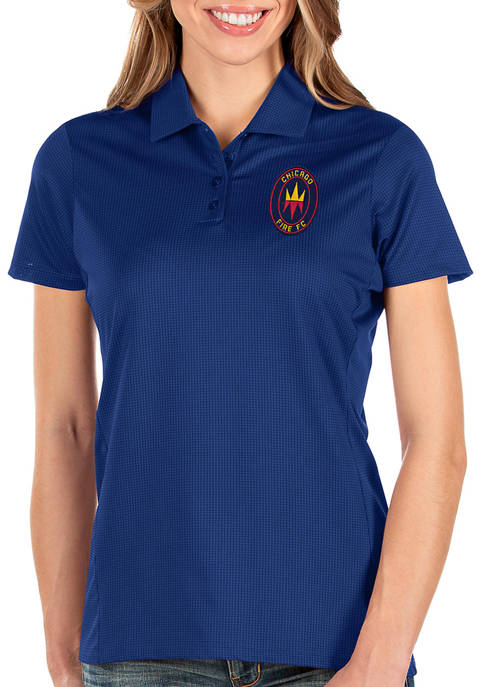 Antigua® Womens MLS Chicago Fire Balance Shirt