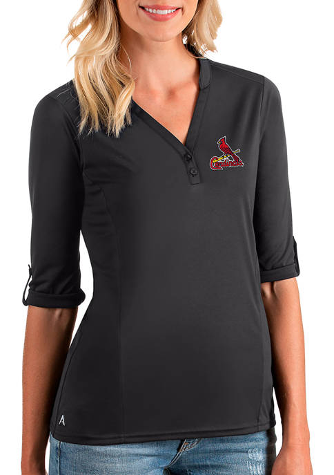 Womens MLB St Louis Cardinals Accolade V-Neck Top