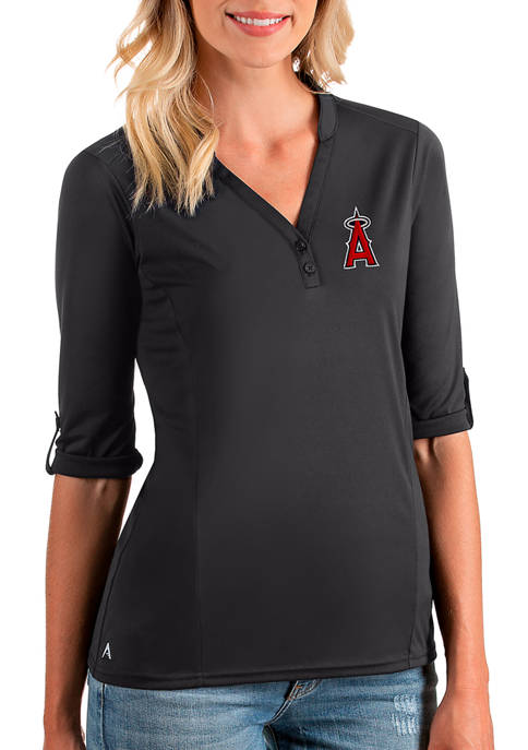 Antigua® Womens MLB Los Angeles Angels Accolade V-Neck