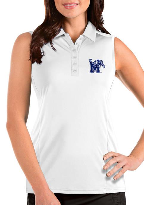 Antigua® Womens NCAA Memphis Tigers Sleeveless Tribute Top