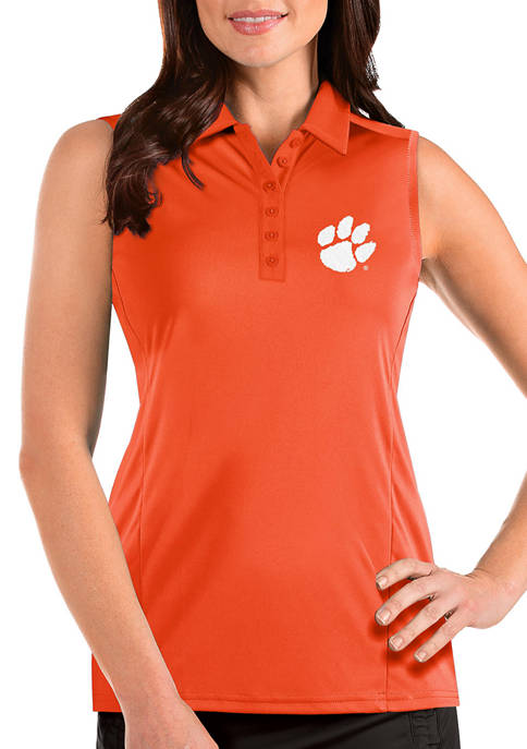 Womens NCAA Clemson Tigers Sleeveless Tribute Top