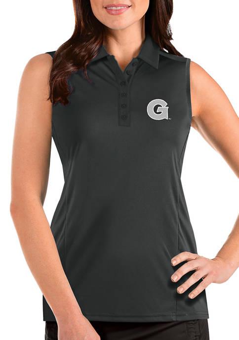 Antigua® Womens NCAA Georgetown Hoys Sleeveless Tribute Top