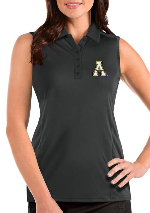 Womens NCAA Appalachian State Mountaineers Sleeveless Tribute Top
