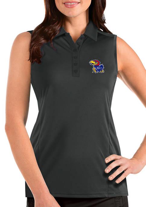 Antigua® Womens NCAA Kansas Jayhawks Sleeveless Tribute Top